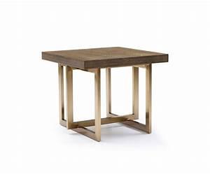 modrest pike modern elm antique brass end table end With designer side tables for living room