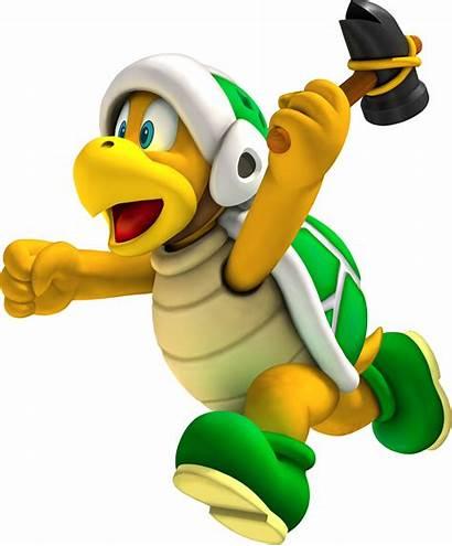 Bro Hammer Mario Bros Koopa Goanimate Fire