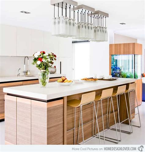 Kitchen Island Breakfast Bar Ideas - 15 distinct kitchen island lighting ideas decoration for house