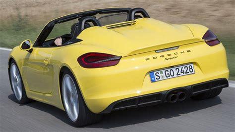 2015 Porsche Boxster Spyder Review