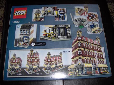 10182 Cafe Corner Photo Review!  Lego Town Eurobricks