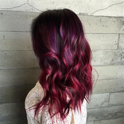 hair with colored highlights black hair with colored highlights hair color in