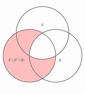 Tikz Pgf - How To Draw A Venn Diagram For X