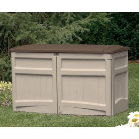 Suncast Horizontal Utility Shed 20 Cu Ft by Best Outdoor Shed For Portable Generator
