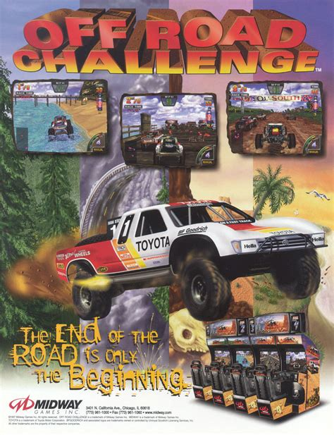The Arcade Flyer Archive  Video Game Flyers Off Road