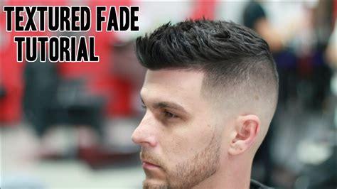 textured fade barber tutorial straight razor beard trim