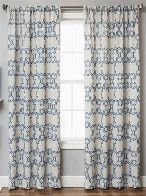navy geometric pattern curtains 17 best images about masculine curtains on