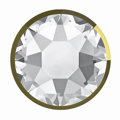 Swarovski Crystal Rhinestones Flatback Dorado Fix Crystals