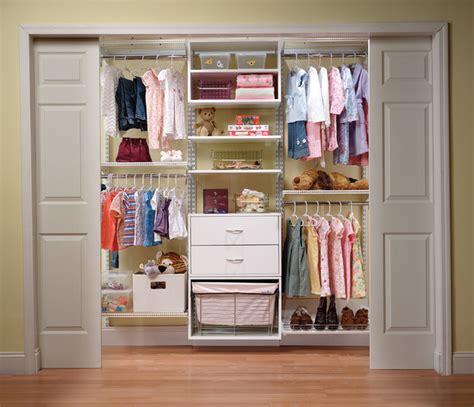Organized Kid's Closet System By Organized Living