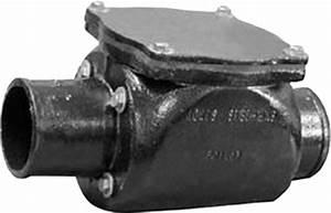 4 U0026quot  - Backwater Valve No-hub Nh