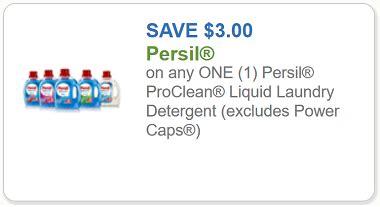persil coupon     persil proclean liquid