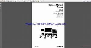 Volvo Trucks Fm Fh Version2 Wiring Diagram Service Manual