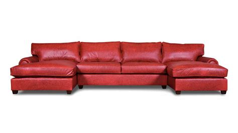 dual chaise sectional cococohome chaise leather sectional