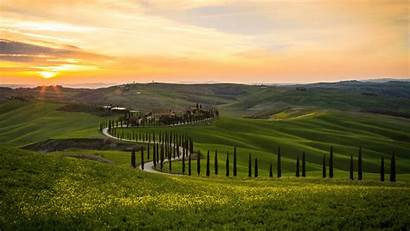 Tuscany Italy Landscape 4k Wallpapers Ultra Background