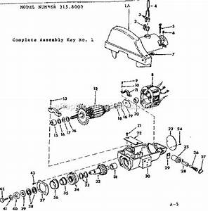 Craftsman 3158000 Parts List And Diagram