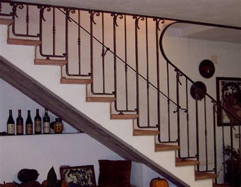 ringhiera interna moderna arredi per la casa in ferro battuto e scale in ferroferro
