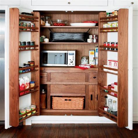 Wooden Kitchen Storage  Kitchen Larder  Housetohomecouk