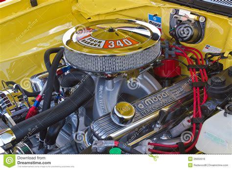 Mopar 340 Engine Editorial Photo - Image: 26650516