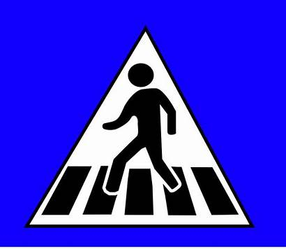 Clipart Clip Sign Traffic Crossing Vector Clipartbest