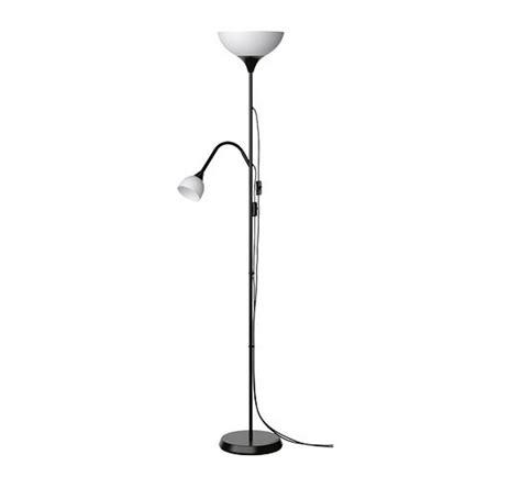 Ikea Floor Lamp  Uplight  Black White Reading