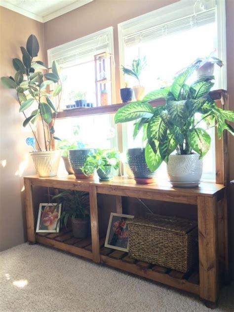window plant stand shanty  chic