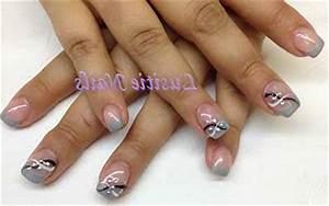 Ongle En Gel Court : modele ongles gel gris ~ Melissatoandfro.com Idées de Décoration