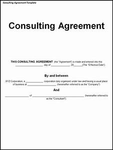 consulting fee agreement template - consulting agreement template lisamaurodesign