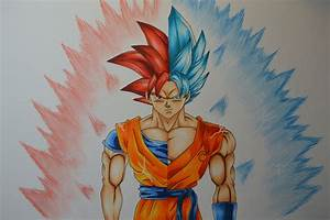 Goku Ssj Drawing At Getdrawingscom Free For Personal