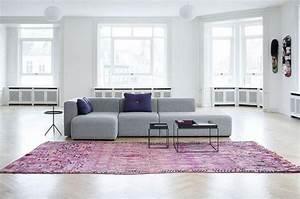 le canape composable modeles contemporains archzinefr With nettoyage tapis avec canapé connect muuto