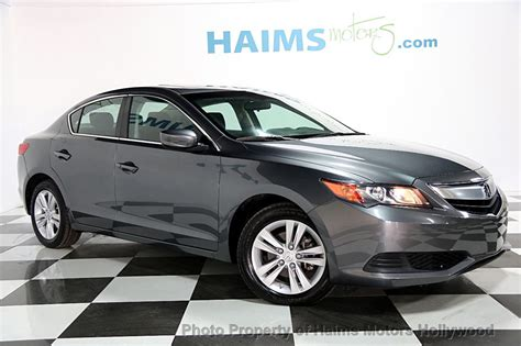 Ilx Acura Used by 2013 Used Acura Ilx 4dr Sedan 2 0l At Haims Motors Serving