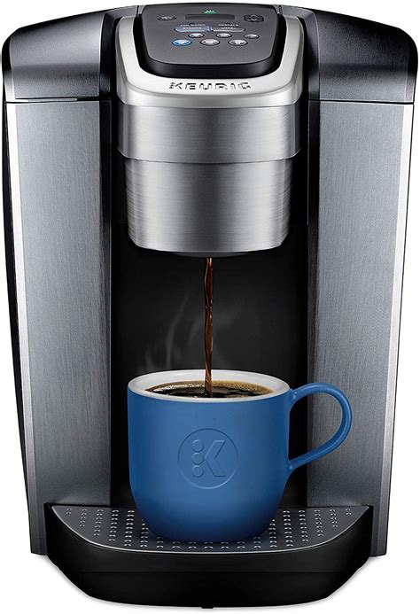 We used to have 1 large coffee pot on the counter and a keurig, now we just have one. Keurig K-Elite Coffee Maker, Single Serve K-Cup Pod Coffee Brewer, With Iced Coffee Capability ...