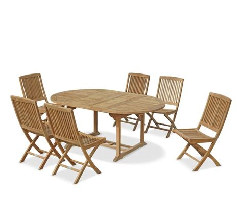 brompton leaf extending garden table and chairs set