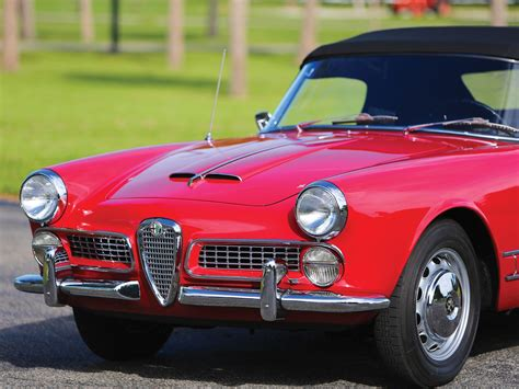 1959 Alfa Romeo by Rm Sotheby S 1959 Alfa Romeo 2000 Spider By Touring