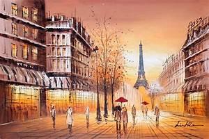Peinture De Paris Poissy : tableau peinture paris ~ Premium-room.com Idées de Décoration