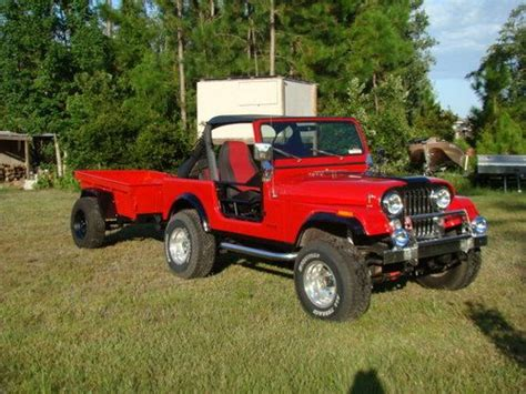 jeep cing trailer find used 1983 jeep with custom m 416 trailer in saint