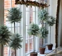 Fensterdeko Weihnachten Innen by Kreative Ideen F 252 R Eine Festliche Fensterdeko Zu Weihnachten