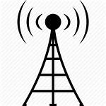 Antenna Tower Radio Cell Signal Icon Network