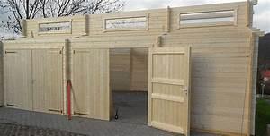Doppelgarage Aus Holz : doppel holzgarage hawaii im aufbau gartenhaus2000 magazin ~ Sanjose-hotels-ca.com Haus und Dekorationen