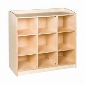 Meuble De Rangement 9 Compartiments H 101cm Montessori