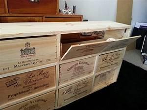 Caisse De Vin En Bois : meuble en caisses de vin wikifab ~ Farleysfitness.com Idées de Décoration