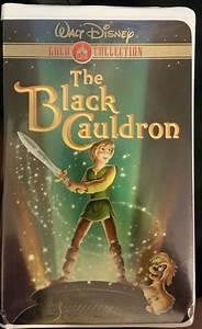 Diamond Chart Walt Disney The Black Cauldron Gold Collection Vhs With