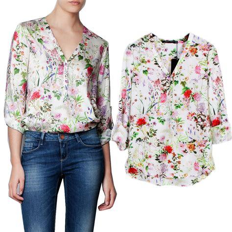 summer blouse aliexpress com buy sale summer 39 s print