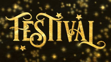 Festival Font   Designed by JoannaVu
