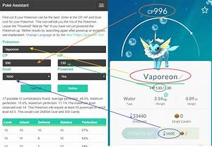 Iv Berechnen Pokemon Go : poke assistant iv calculator techorz ~ Themetempest.com Abrechnung
