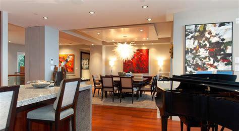 livingroom restaurant penthouse living room dining room interior design ideas