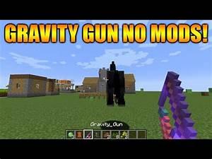GRAVITY GUN IN MINECRAFT NO MODS EckoxSolider