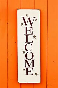 Making, A, Welcome, Sign