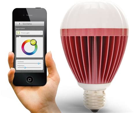 review gunil 9 5w bluetooth led smart light bulb