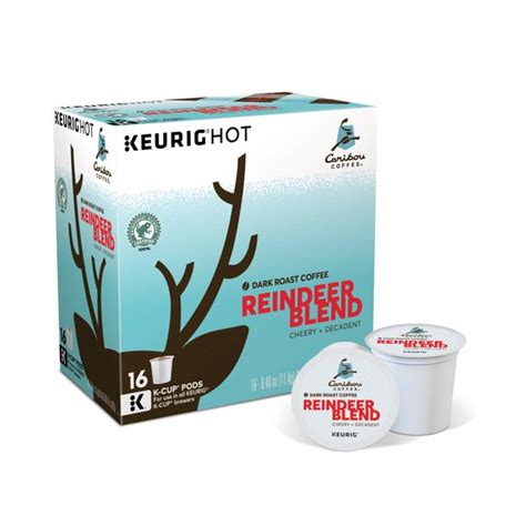 © 2021 caribou coffee operating company, inc. Caribou Coffee Reindeer Blend, Keurig K-Cup Pods, Dark Roast, 16 Count - Walmart.com - Walmart.com