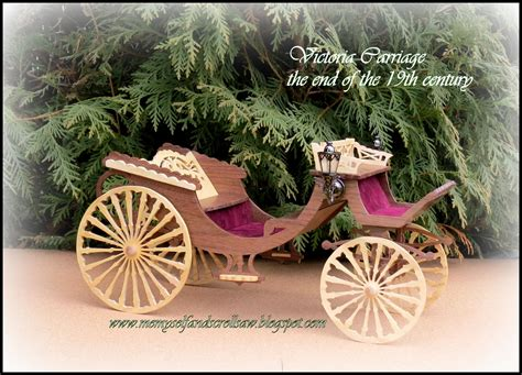victoria carriage scroll  pattern  hobbies
